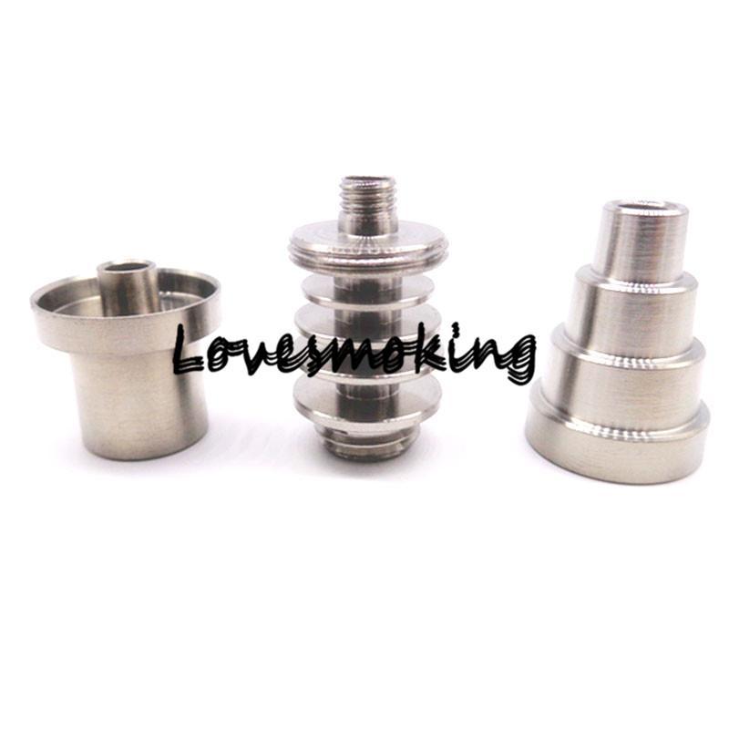 Riscaldatore a spirale vaporizzatore WAX con 6 in 1 in titanio Riscaldatore a spirale 20mm 20mm 100 W 110 V 220 V