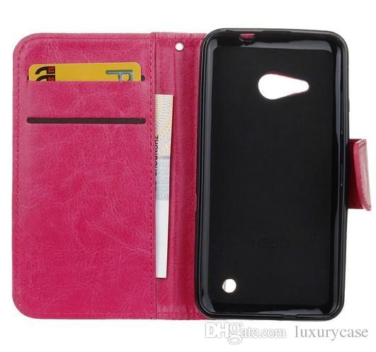 Nokia Lumia 550 N550 Için moda Kılıf Kapak Cüzdan Flip İnce Sevimli Cep Telefonu Deri Kılıf Nokia Lumia N550 550