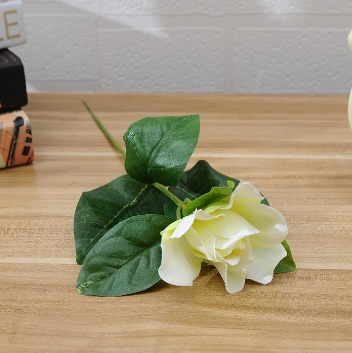 NEW Silk Single Stem Gardenia 30cm/11.81 Length 60P Artificial Cape ...
