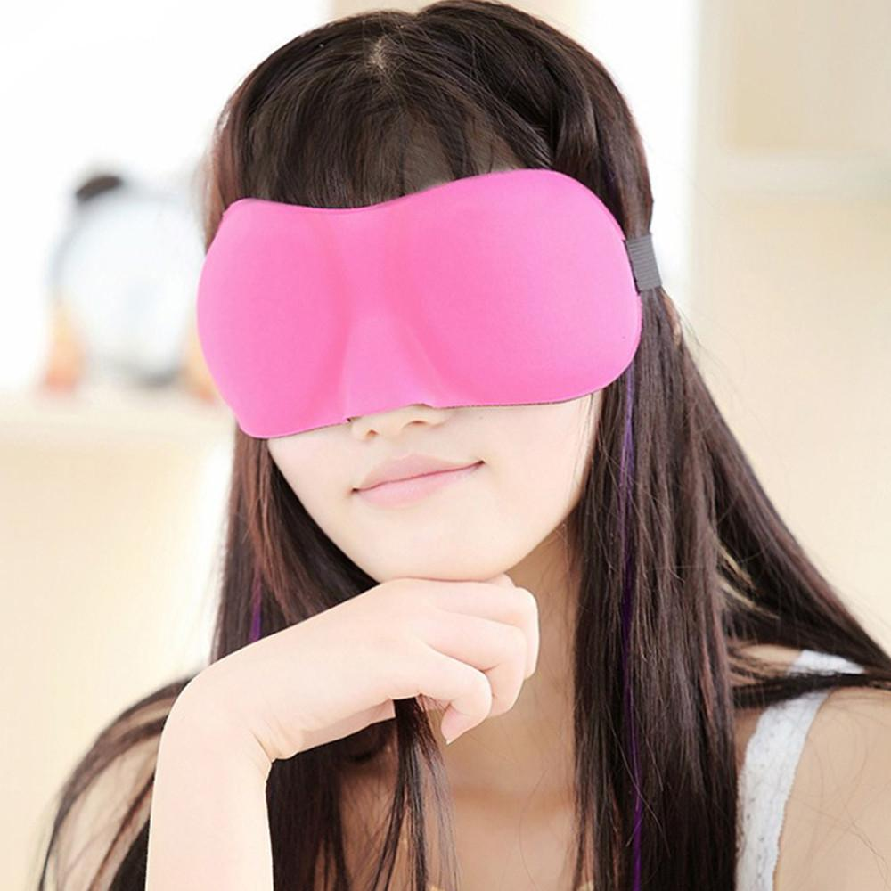 Fashion 3D Eye Stereo Goggles Seamless Care Bed Air Soft Shading And  Sedative With Sleep Mask Hot Sale Free Shipping