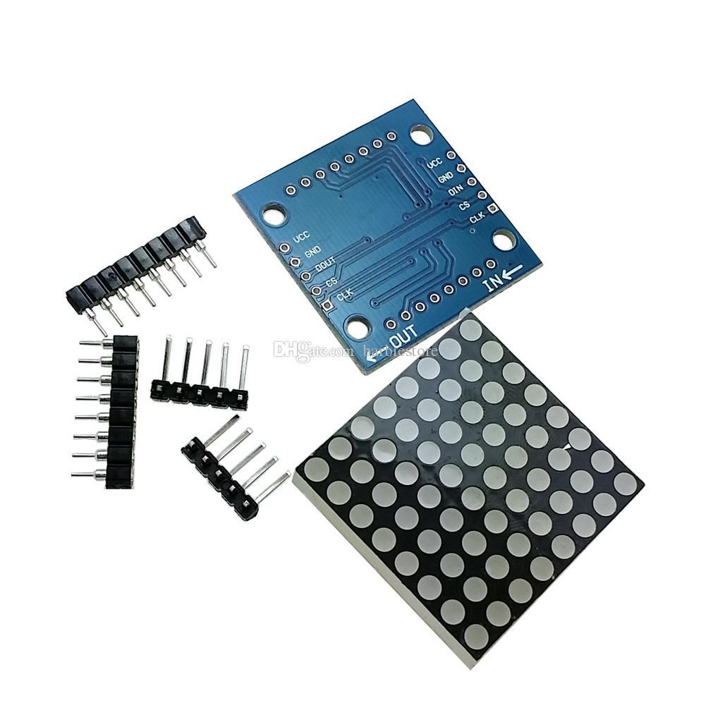 1 Stück MAX7219 Dot Matrix Modell MCU Steuer Display Modul DIY Kits B00142 BARD
