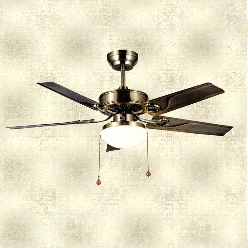 Wholesale Brand New Modern Ceiling Fan European Crystal Chandelier Metal Lamp Vintage Hanging Lights Living Room Lighting At 67773