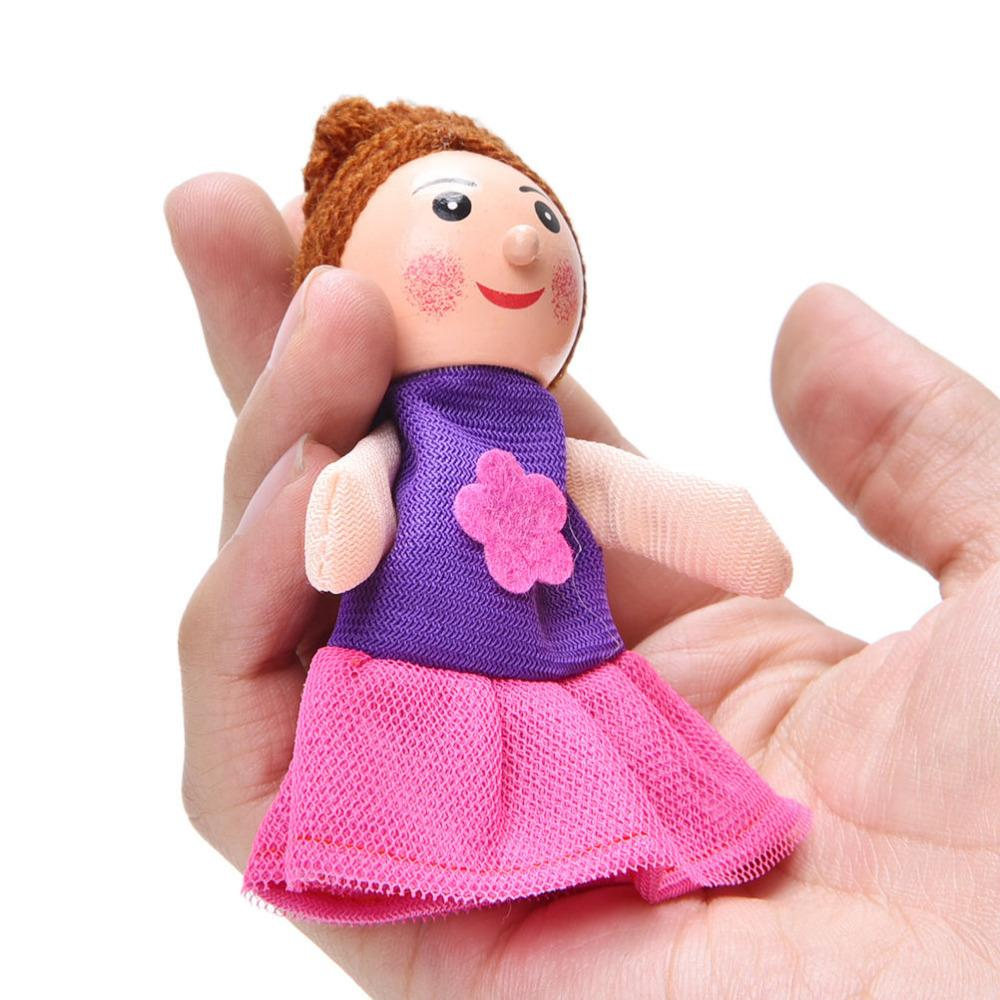 Puppets Little Mermaid Christmas Animal Finger Puppet Finger Toy Finger Doll Funny Pretty Kids Baby Toys Wholesale