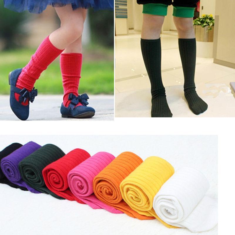 da870cdc4 Children Boy Girl Kids Knee High Socks Stocking Cotton Baby Toddler Leg  Warmers Princess School Boot Socks For 2 5 Years Unique Socks Online Socks  Sites ...