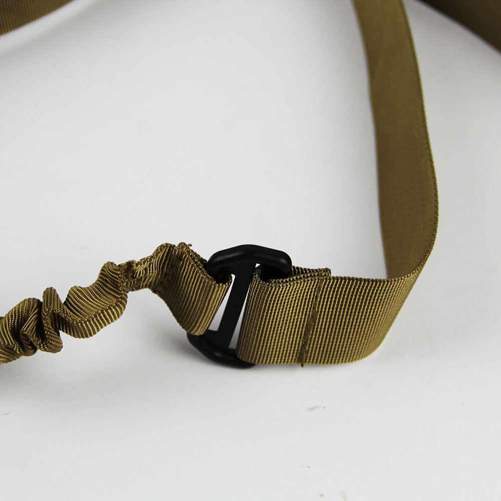 1-Point Nylon Tactical Rifle Sling Caccia Pistola Airsoft Band Single Point Bungee Sling Airsoft Gun Gun Strap