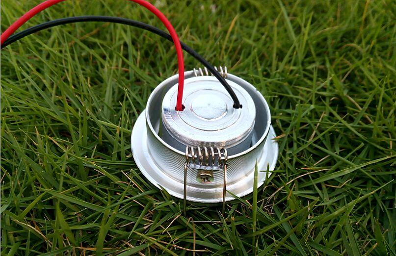 1W LED Ceiling Spot Lamp AC 85~265V DC 12V Warm white Cold white Cabinet Shop Window Decoration Lighting Bulbs Flush Downlight 1Watt CE ROSh