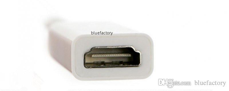Mini DisplayPort DP a HDMI Adaptador Mini Display Port Thunderbolt Convertidor para MacBook Pro Air