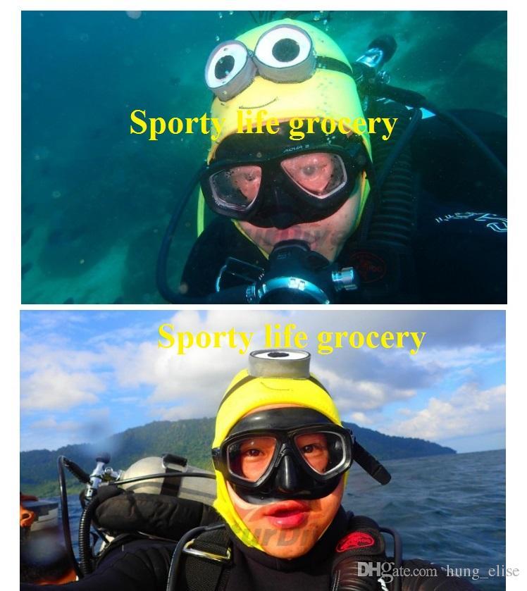 شخصية الكرتون قبعة لطيف الغوص 4MM سمك النيوبرين الغوص الغواصين هات الغوص هود الغوص كاب