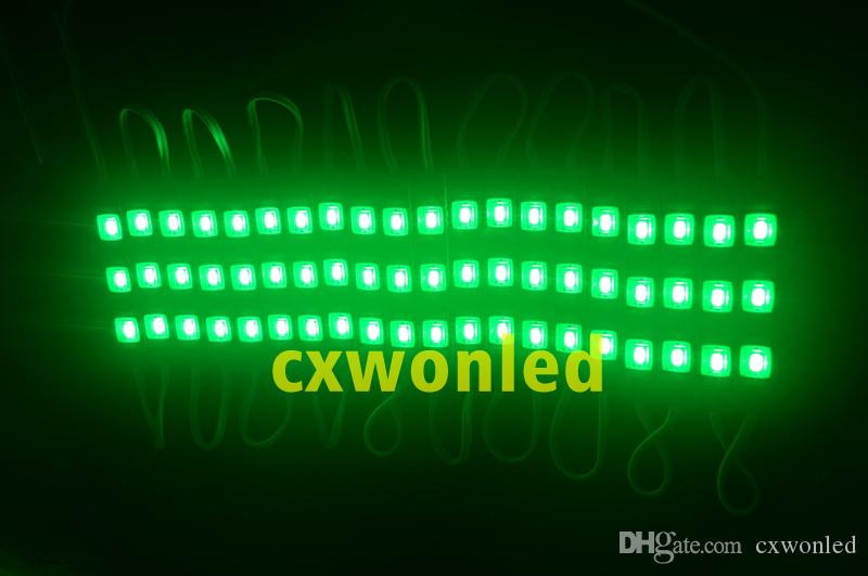 LED 모듈 조명 램프 SMD 5730 방수 모듈 기호 문자 LED 백라이트 SMD5730 3 LED 1.2W 150LM DC12V