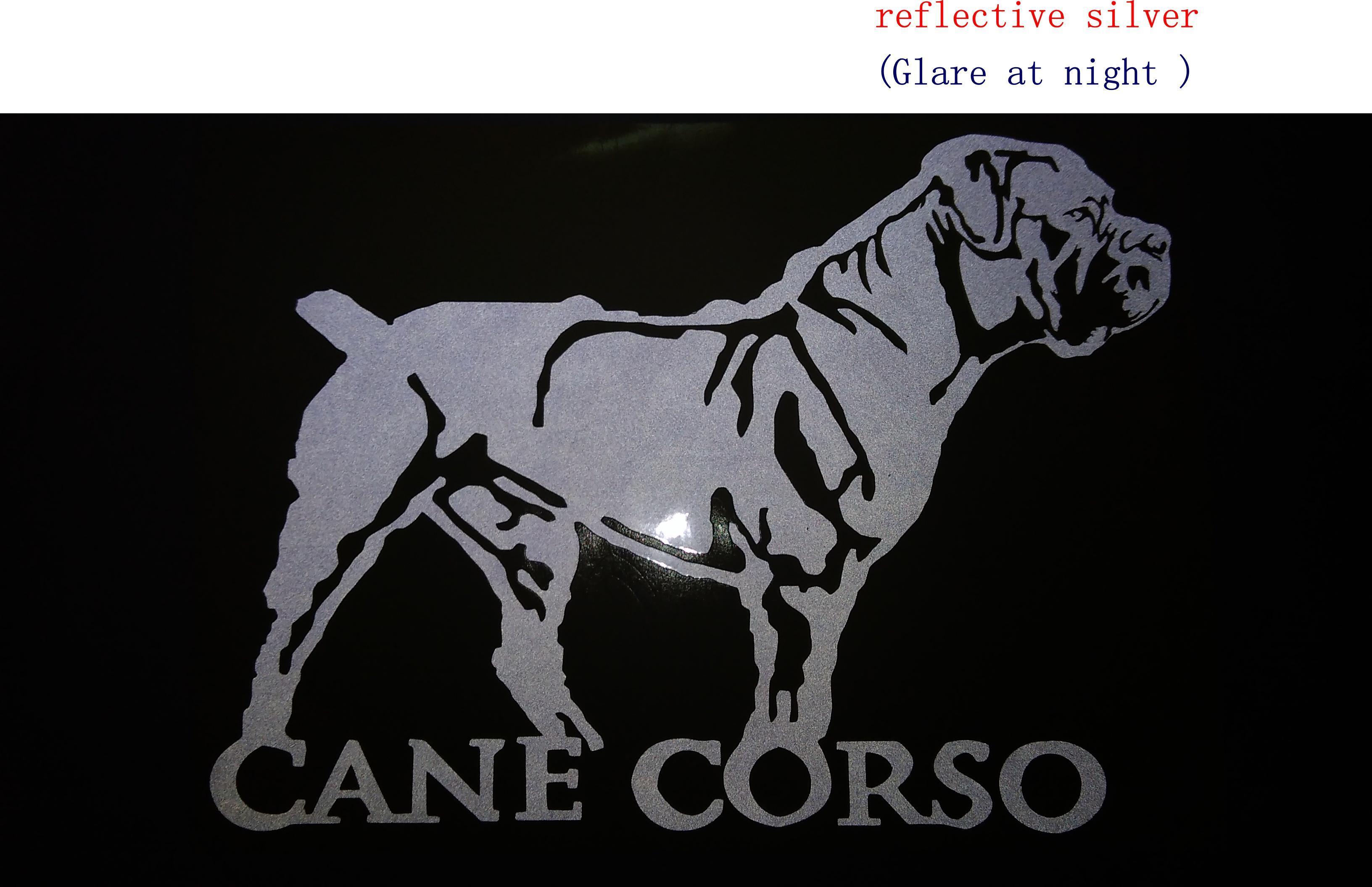 Cane corso cane da corso cane corso italian dog cat vinyl decal lg truck dog car decal vinyl sticker