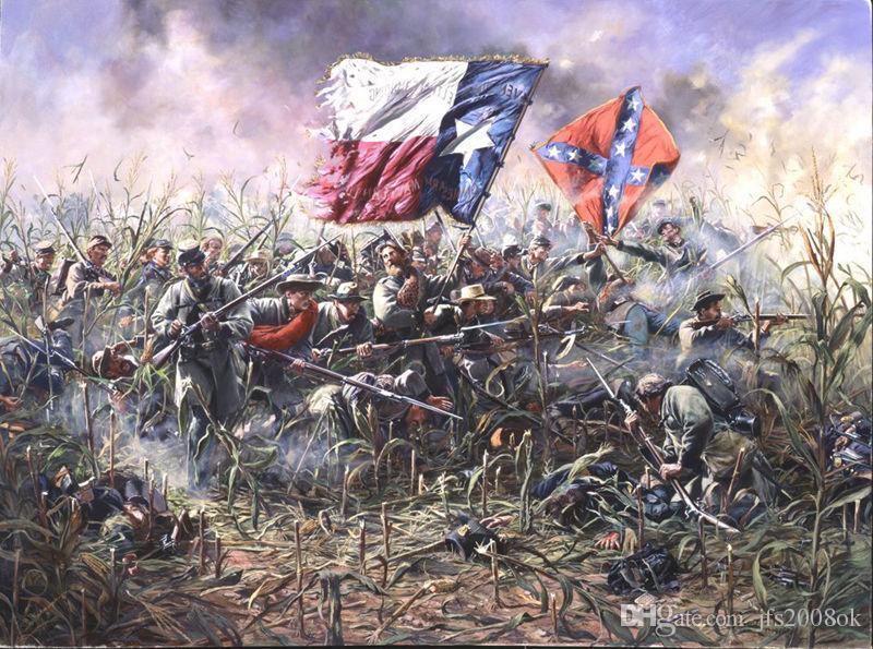Compre Arte Enmarcado De La Guerra Civil Cleburne En Chickamauga ...