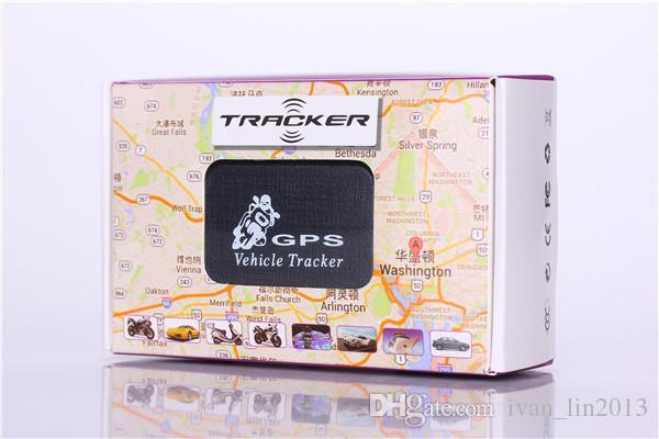 무료 배송 미니 휴대용 자동차 트래커 GPS GSM GPRS 실시간 추적 장치 차량 자동차 오토바이 LBS 트래커
