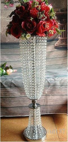 Best-seller de ferro de ouro carrinho de flor do casamento peça central vaso