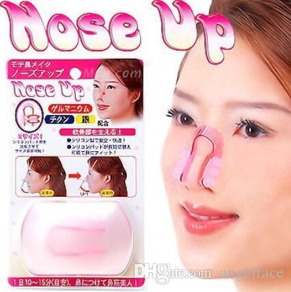 Fashion Nose Up Shaping Shaper Lifting Bridge Straightening Beauty Nose Clip Face Fitness Facial Clipper corrector Free DHL
