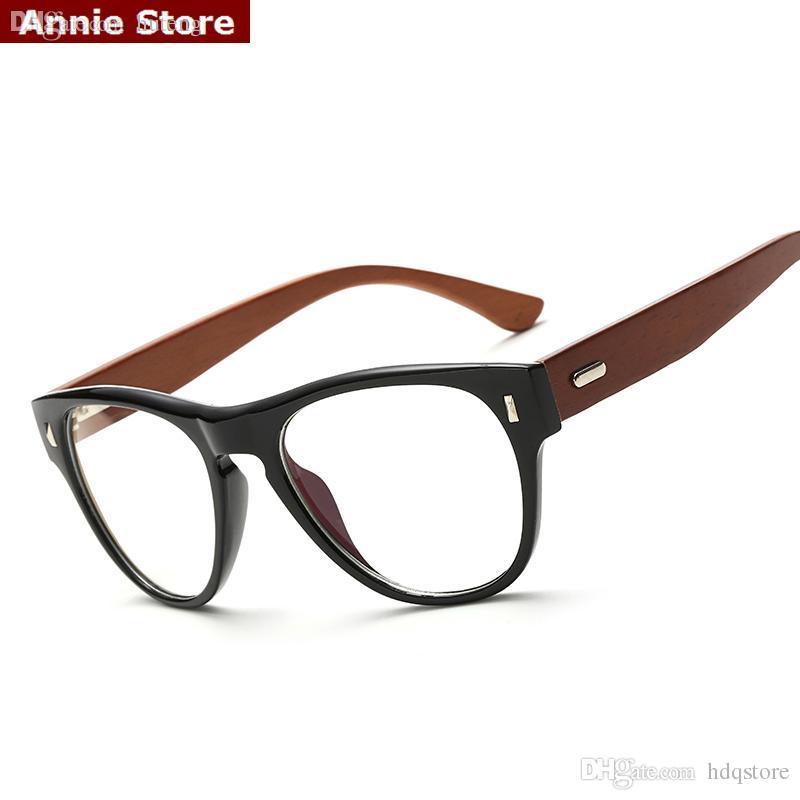 2018 Wholesale New Rivets Eyeglasses Frames Wood Women Japan ...