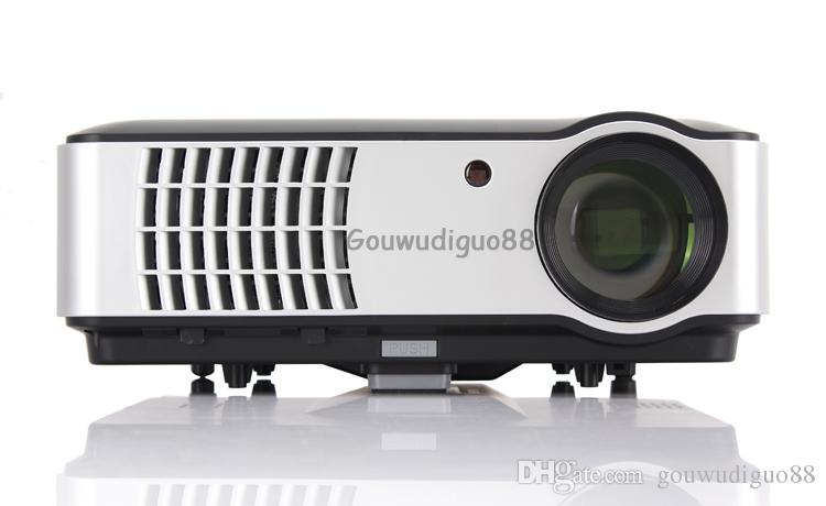 2018 New Android 6.0 WiFi High Brightness 6500 lumens Games Smart Projector Full HD 1080P Home Theater Projector Multimedia TV LED Projector