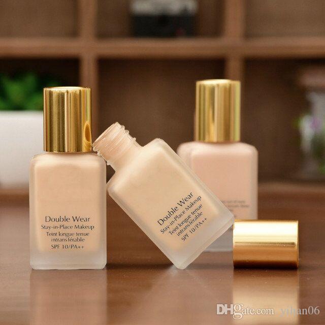Горячие продажи! Новый макияж Double Wear Foundation 30 мл 3 цвета, чтобы выбрать хорошее качество с лучшей ценой быстрая бесплатная доставка