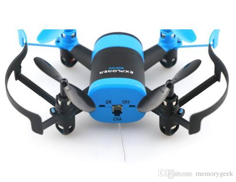 JXD 512W JXD512W 2.4Ghz WiFi FPV Mini UFO One-Key-return & Headless Mode RC Quadcopter with 0.3MP HD Camera RTF