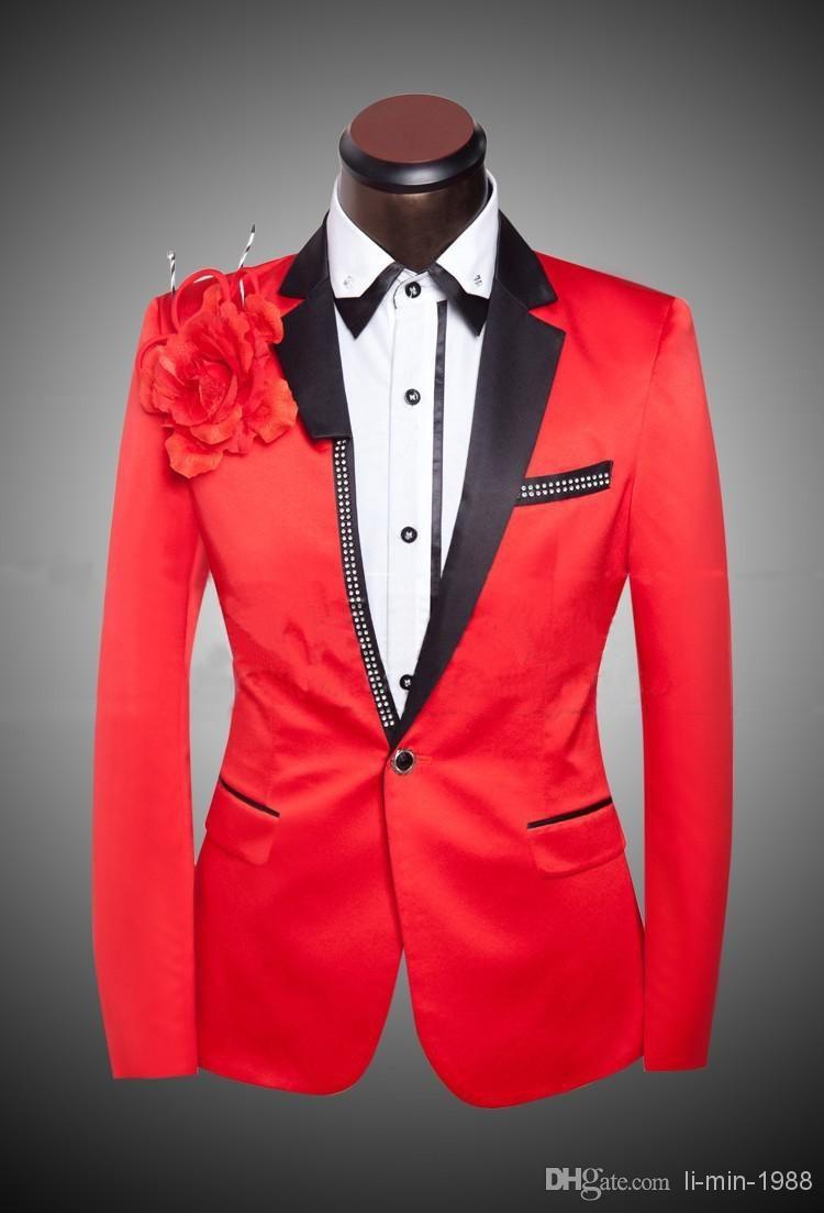 Men Fashion 2015 Suits Coat Pant Designs Custom Made Suit Cheap ...