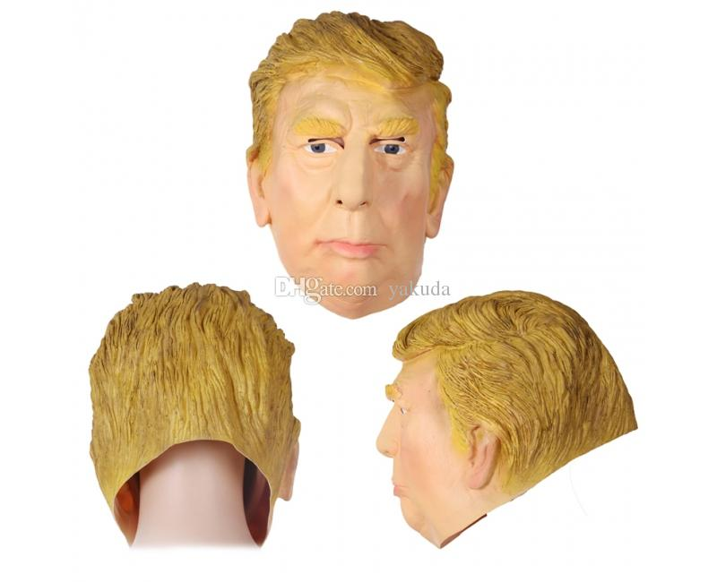 Máscara divertida de Cosplay de la personalidad, Máscara de Hillary Clinton del tema, Máscara barata de Trump del descuento, nueva máscara unisex del traje de las elecciones presidenciales