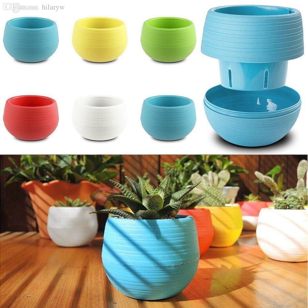 wholesale-mini colourful 7*6.5cm cute round home garden office decor