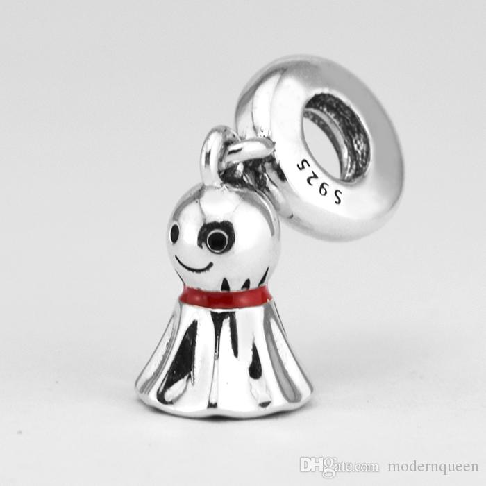 Asian Sunny Doll key charms silver beads S925 silver fits for pandora style bracelet H8ale 792113ENMX