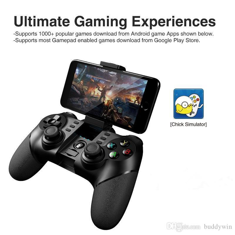 Ipega PG-9076 3-in-1 Wireless Bluetooth Gamepad With 2.4G Wireless Bluetooth Contorller For Android iOS Windows System PS3