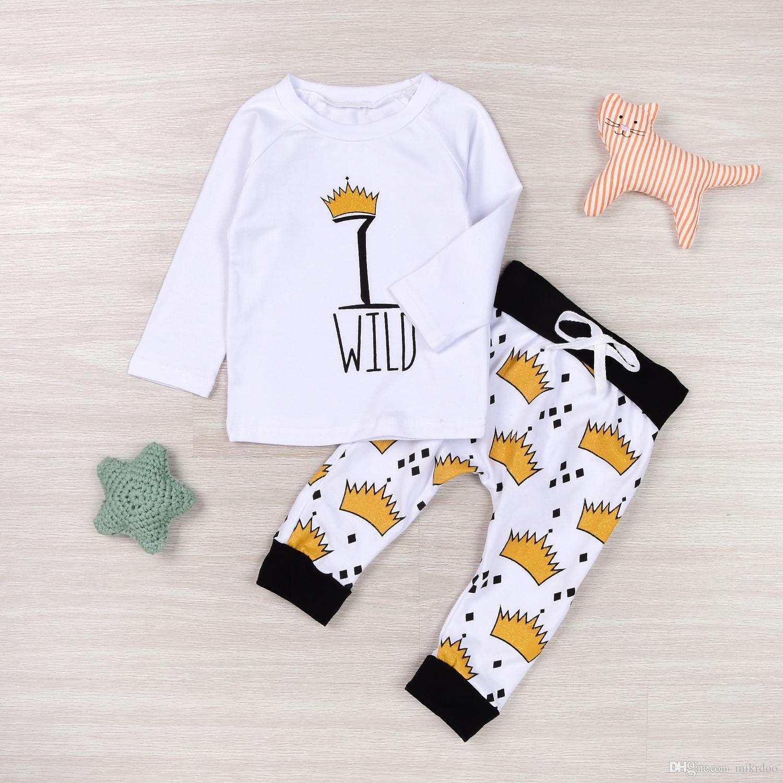 29d5f9563572 2019 Mikrdoo Autumn New Baby Clothes Newborn Kids Baby Boy Girl WILD ...