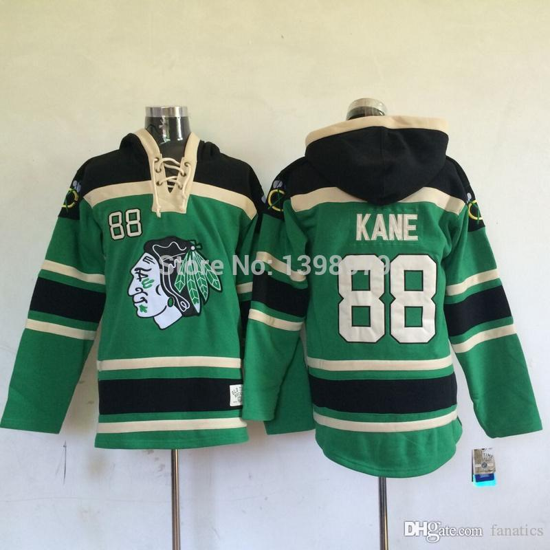 b9ffc9231 2019 2016 New Stadium Series Chicago Blackhawks Jersey  88 Patrick Kane New  Season Black Ice Hockey Jerseys Wjj001 From Fanatics