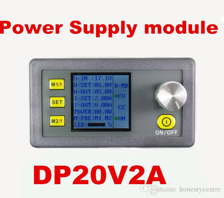 hot sell DP20V2A Multi-function Digital Power DC power supply module integrated voltage meter Step-down current tester Voltmeter