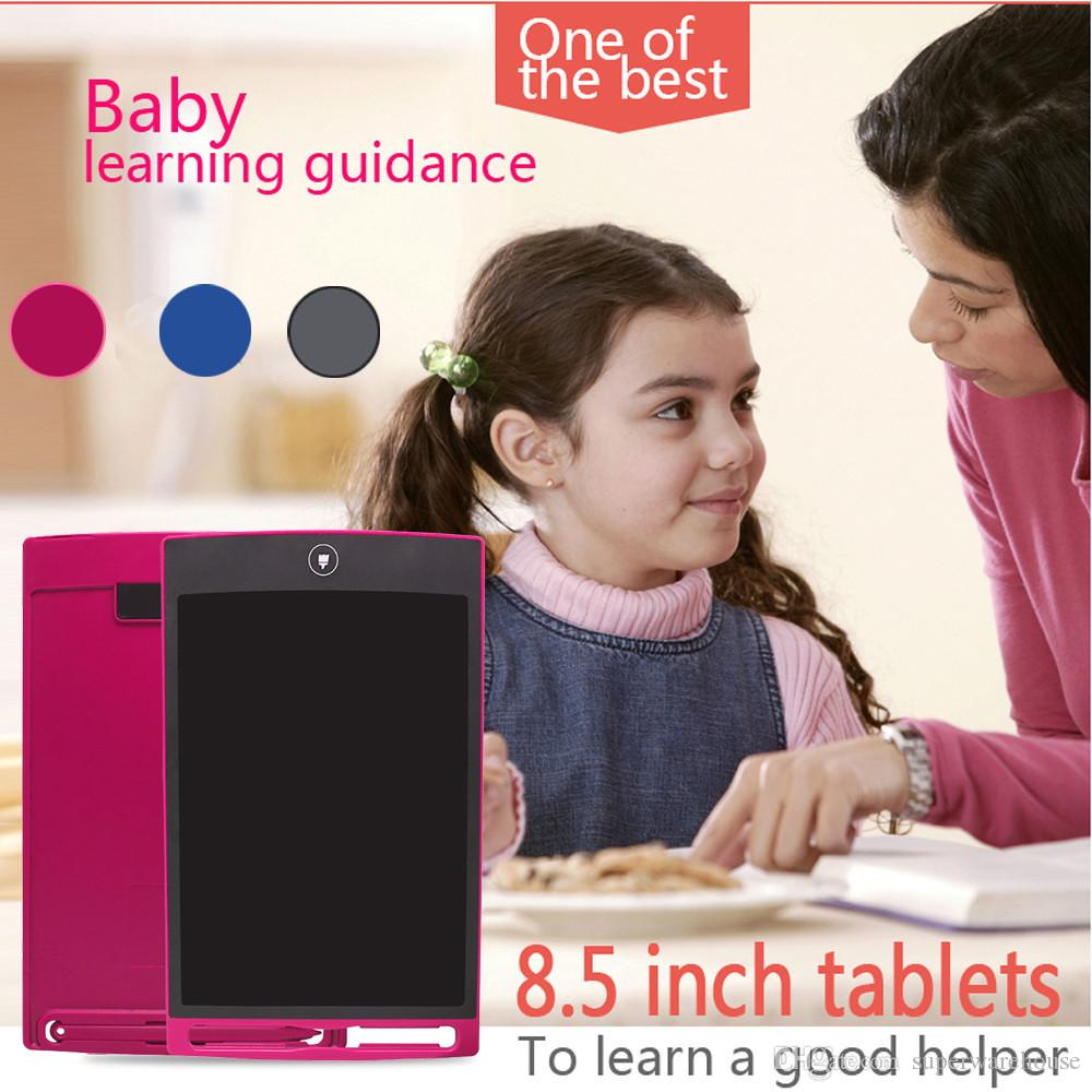 New Children 8.5-inch LCD eWriter Paperless Memo Pad Tablet Writing Drawing Graphics BoardLiquid crystal dimming film