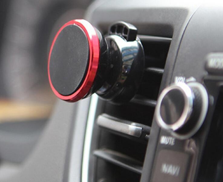 2017 de alta qualidade mais novo carro magnético forte respiradouro de ar suporte universal do telefone com pacote de varejo berço