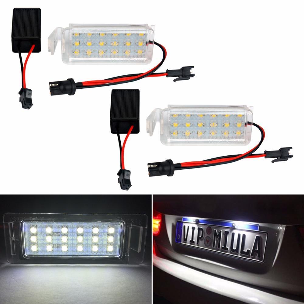 2 Adettakım Aksesuarları 18 LED Plaka Işık Lambası Ford Falcon FG / BA / BF XR 6/8 03-08 araba-styling