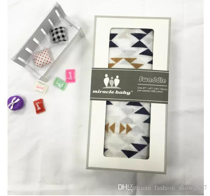 Baby Summer Muslin Cotton Single Layer Baby Towel Newborn Blanket Baby Swaddle Infant Wrap 120x120cm 180g