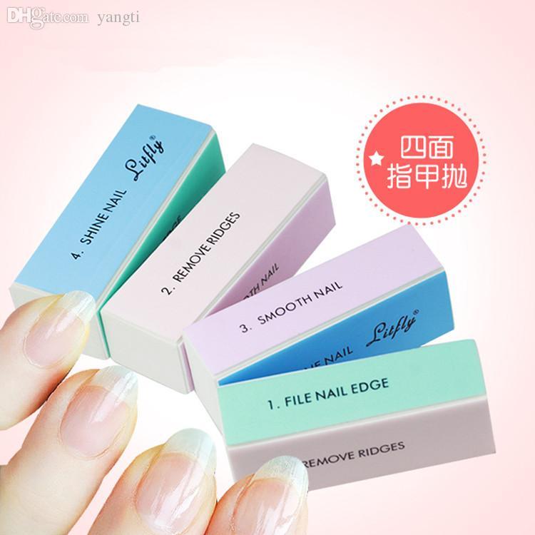 Wholesale Nail Art Polisher 4 Ways Manicure Nail Art Sanding File ...