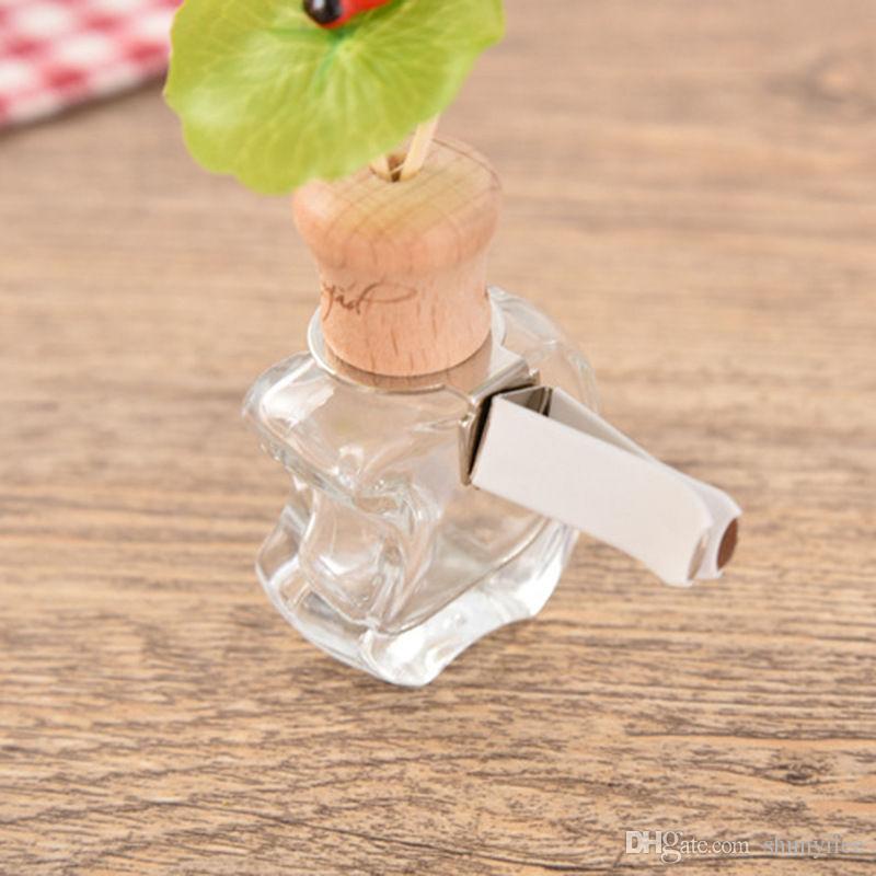 Автомобильный парфюмерный кондиционер Воздуховыпускное отверстие Парфюмерный зажим для парфюмерной машины Пустая бутылка Аэрозольный баллон F20172028