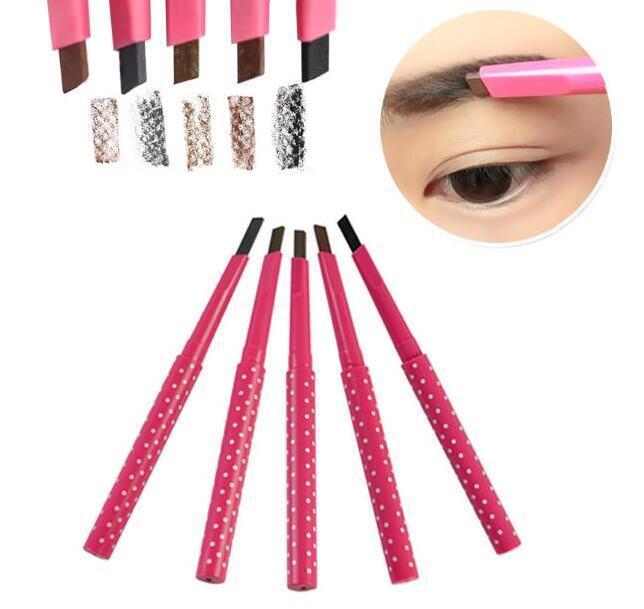 Natural Waterproof Longlasting Shadow Eyebrow Pencil Kit Eye Brow Pen Make Up Liner Powder Shaper Cosmetic Makeup Tool Factory price