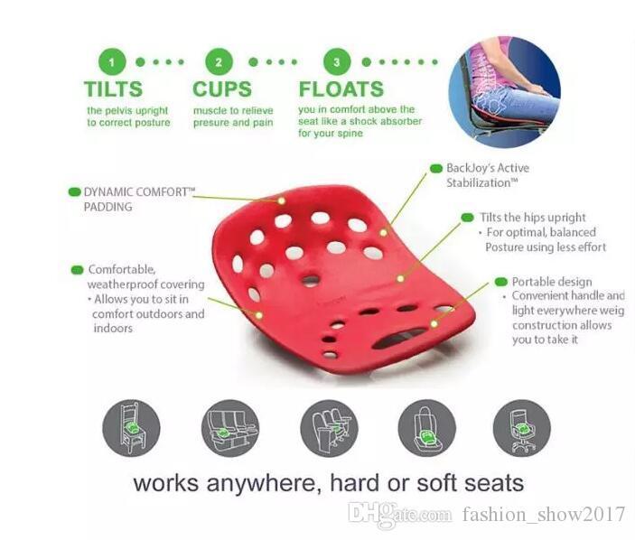 Mejora NUEVO SitSmart Postura Plus para el dolor de espalda cojín del asiento postura corrector de postura, más sitsmart Yoga