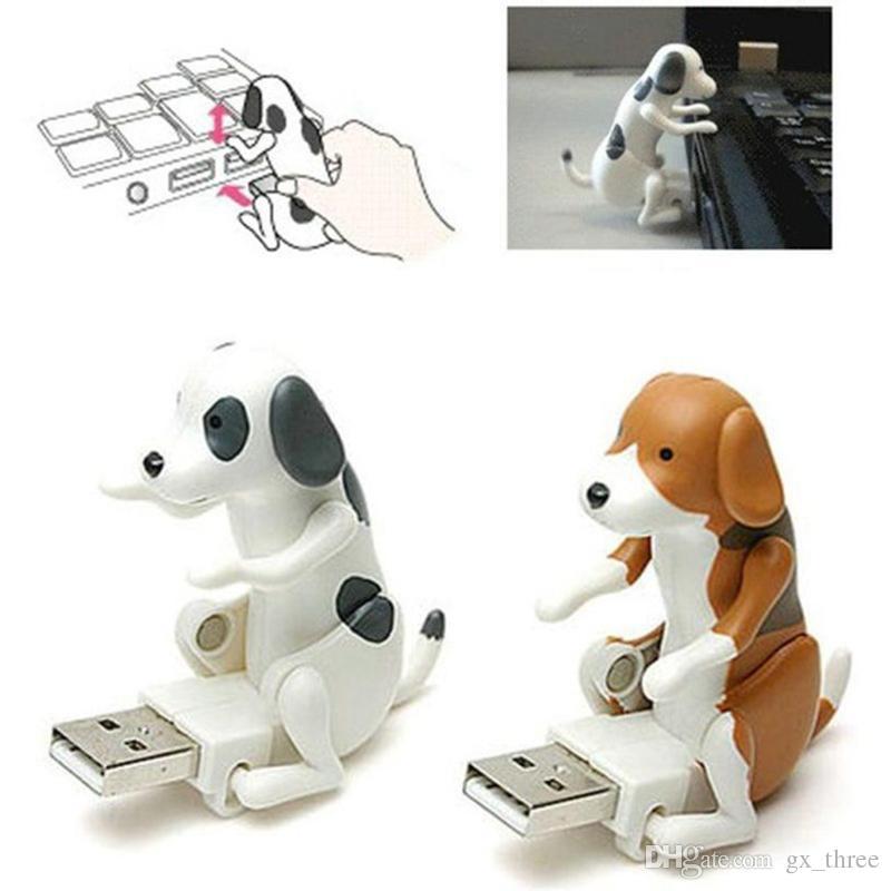Mini Bonito USB 2.0 Engraçado Humping Spot Dog Brinquedo Aliviar A Pressão para o Trabalhador de Escritório Melhor presente U disco Para O Dia Das Bruxas Natal