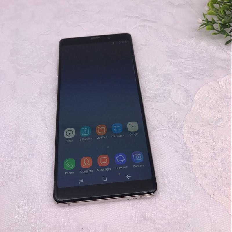 Goophone Note 8 9 10 N9 N10 6.3inch Handy Note8 Quad Core 1G 8GB Anmerkung 8 1280 * 720 anzeigen 4G rammen 64G rom Show 4g lte GPS WIFI Smartphone