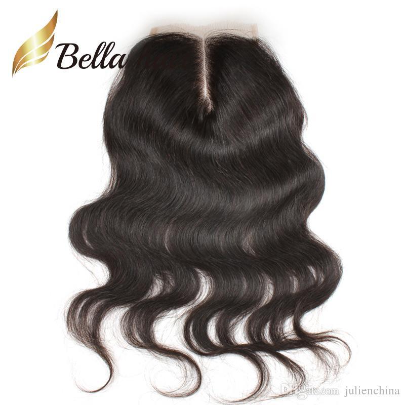 Brazilian Virgin Hair Bundles with Closure Full Head 4 Bundles Hair Weft+Top Lace Closure4*4 Natural Color Body Wave