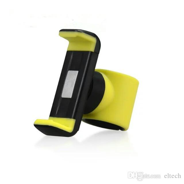 high quality cell phone holder for treadmill or shopping cart support 50mm to 85mm cell phone.