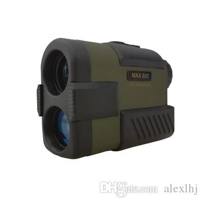 Hohe Genauigkeit 600M Golf Jagd Entfernungsmesser OLED-Display Wasserdicht Laser Geschwindigkeit und Range Finder Camping Wandern Monocular-Teleskop