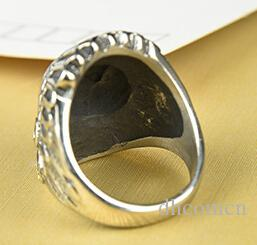 Vintage Indian Chief Head Ring Punk Hipster Style Cool Gift Hot Sale Wholesale DHL