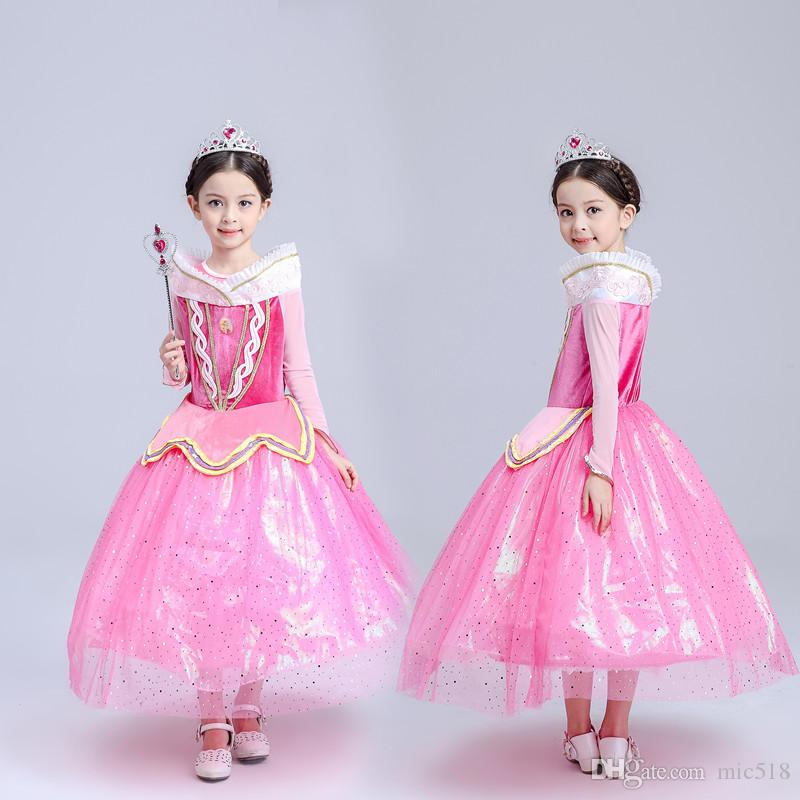 Sleeping beauty style dress