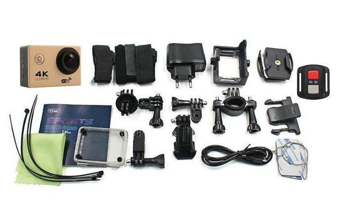 Remote control Action Camera Ultra HD 4K WiFi Sport Camera 1080P 2.0 LCD 140D Lens Helmet Cam Go Waterproof Pro Camera cheapest JBD-M9