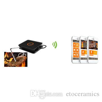 Digital Wireless Bluetooth Barbecue Thermometer BBQ Thermometer 3 Kinds of Roast Mode Controlled By APP