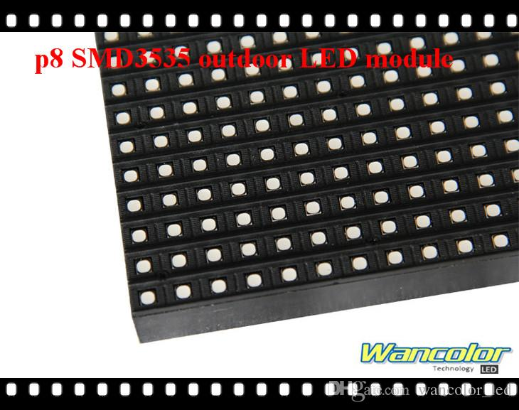 waterproof P8 320*160mm SMD3535 with wide viewing angle outdoor Full Color Led display Module