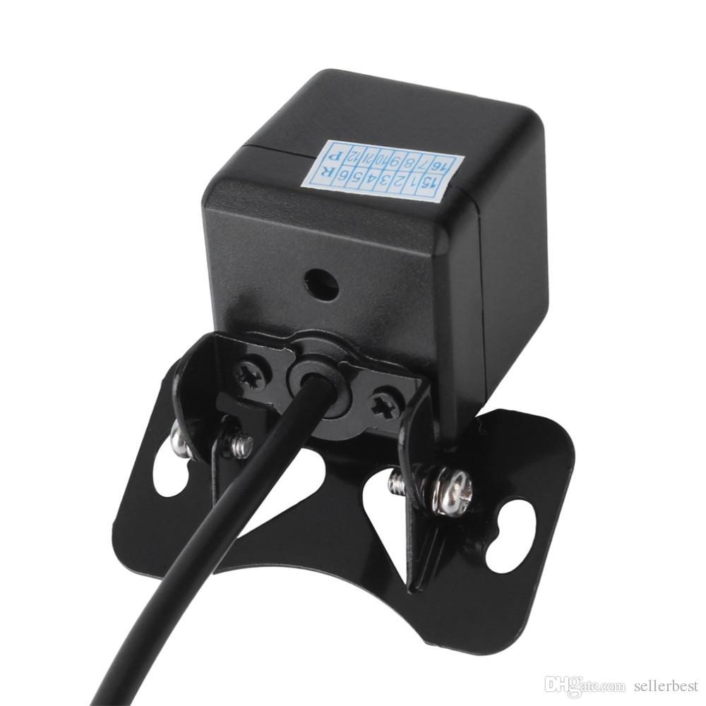 Auto Rückfahrkamera Wasserdicht 170 Grad HD CCD 4 LED Nachtsicht Nachtsicht Einparkhilfe Auto Zubehör Auto Styling
