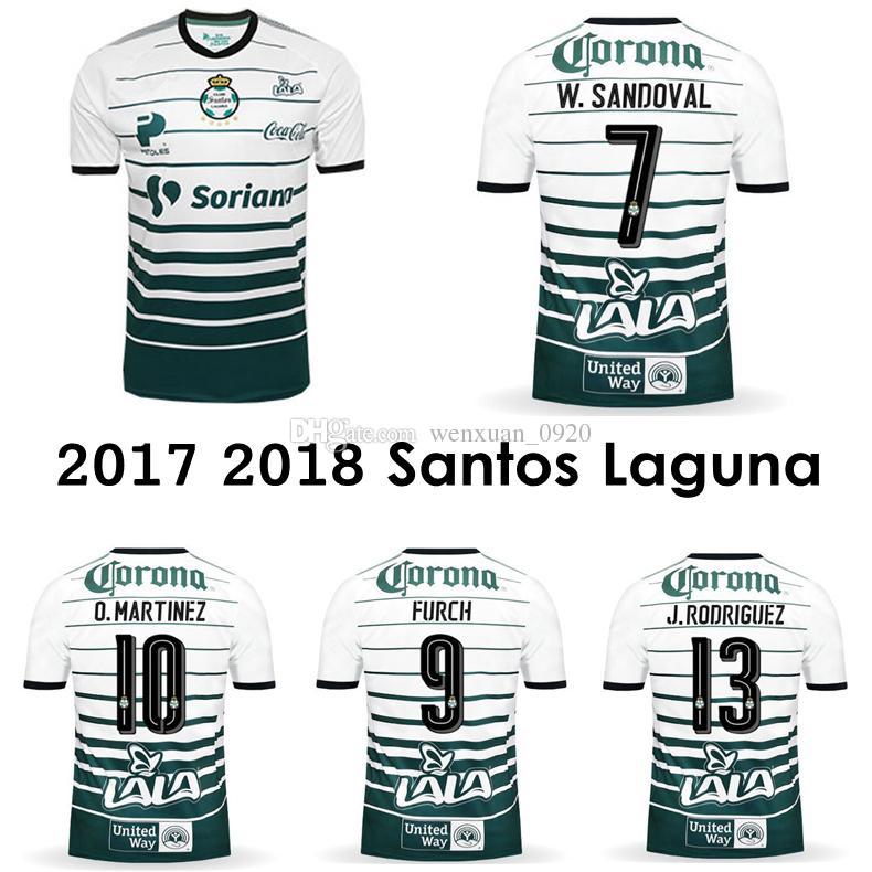 2017 2018 Santos Laguna Soccer Jersey 17 18 Thai Quality Home Santos  Camisetas Mexico Liga Jerseys Furch Djaniny Sánchez Football Shirts UK 2019  From ... 31bbf08c6